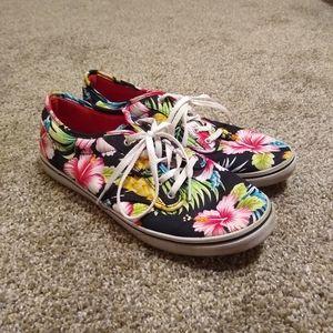 Vans Hawaiian floral prints shoes